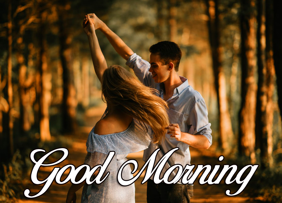 Lovely Dancing Couple Good Morning Picture