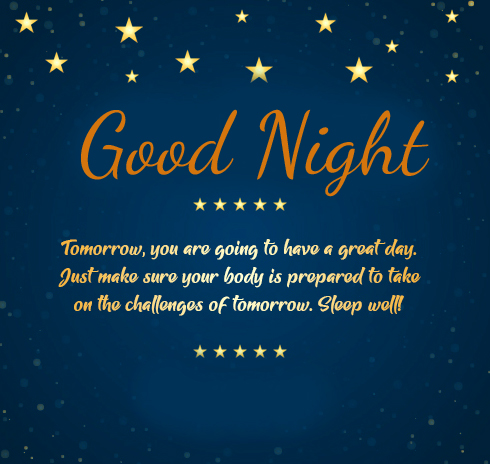 Lovely Good Night Message Pic