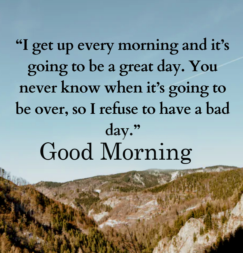 Morning Blessing Quote with Good Morning Wish