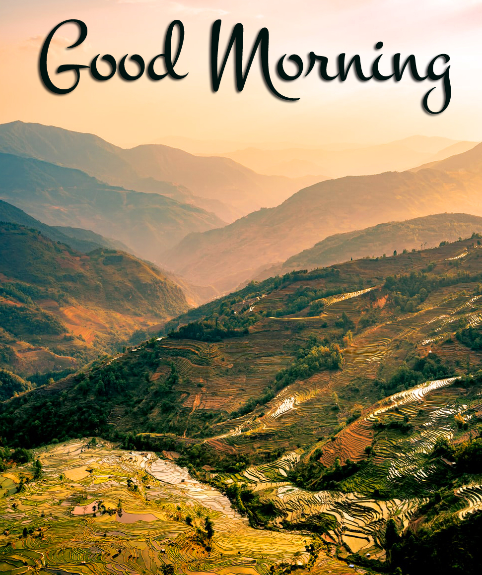 Mountains Landscape HD Good Morning Picture