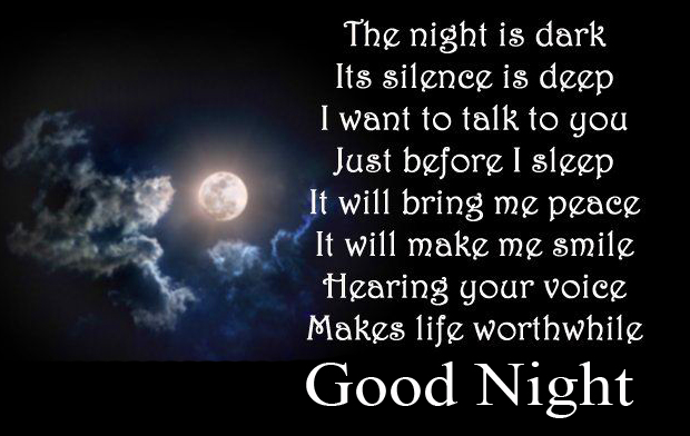 Night Blessing Good Night Quote Image