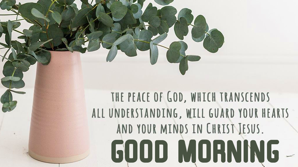 Peaceful God Blessing Quote Good Morning Image
