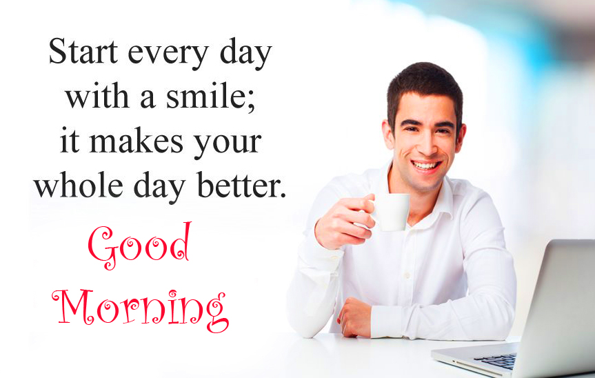 Positive Inspirational Quote Good Morning Image