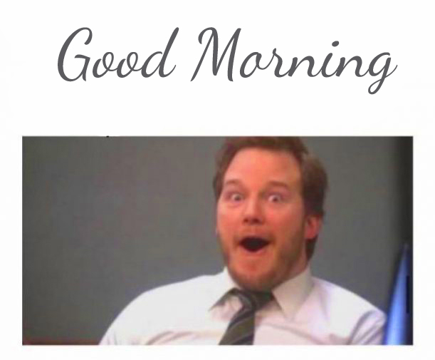 Sirprise Man Funny Good Morning Picture
