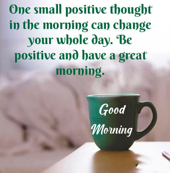 Small Positive Quote HD Good Morning Image