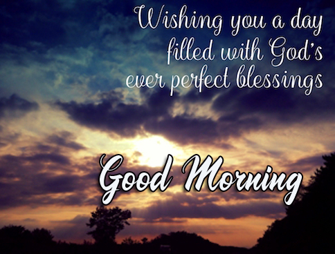 Sweet God Blessing Good Morning Quote Image