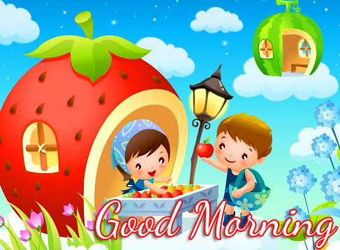 Sweet and Latest Cartoon Good Morning Pic