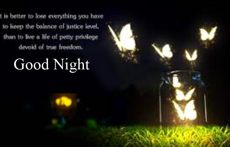 Wonderful Blessing Quote Good Night Image