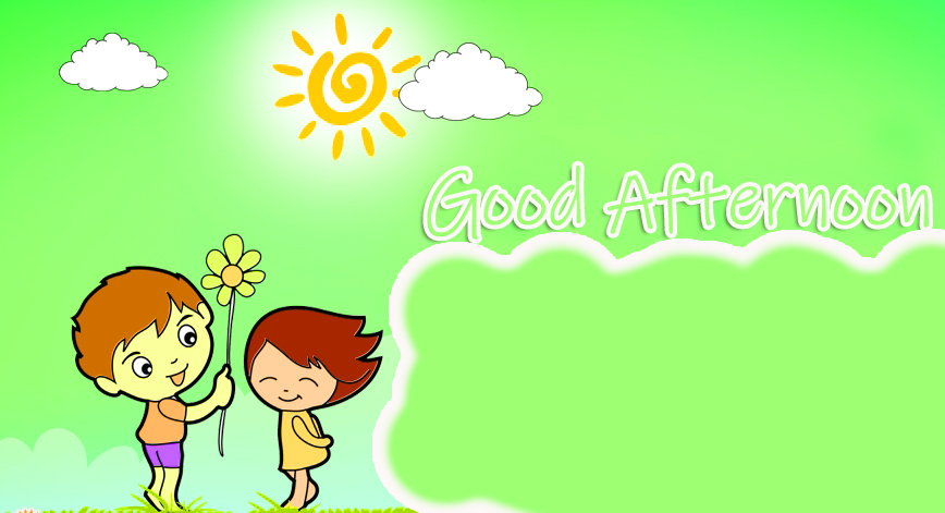 Animated Good Afternoon Image
