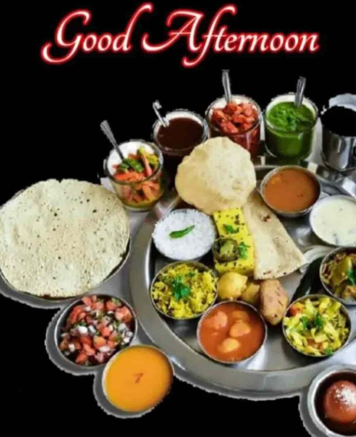 Good Afternoon Lunch Thali Picture