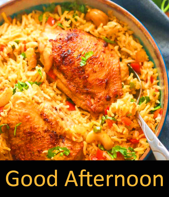 Good Afternoon Non Veg Lunch Picture HD
