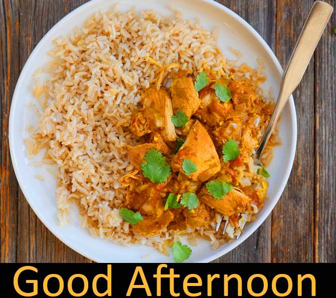 Good Afternoon Rice Bowl Image