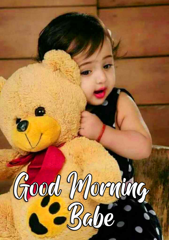 Good Morning Babe Cute Baby Picture