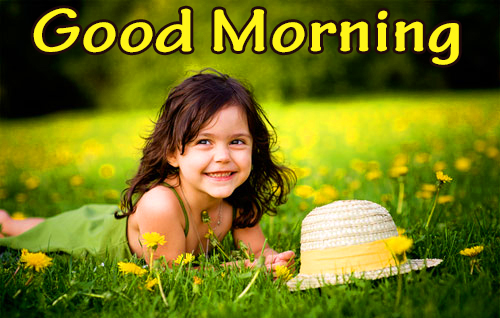 Good Morning Child Nature Picture