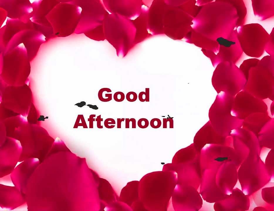 Love Heart Good Afternoon Picture