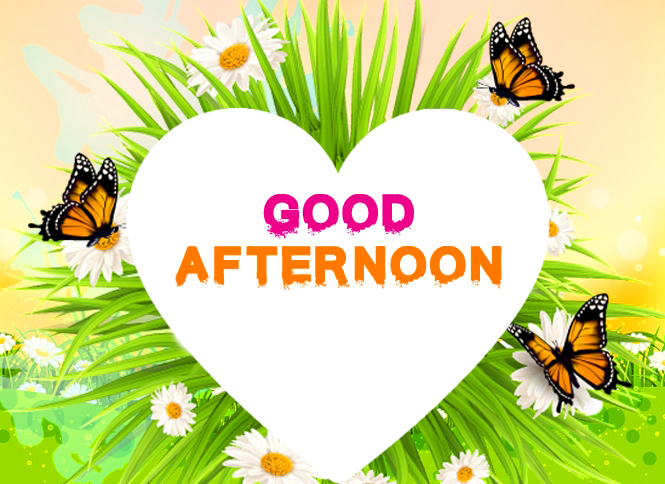 Lovely Animated Good Afternoon Image