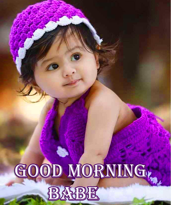 Lovely Baby Good Morning Babe Pic