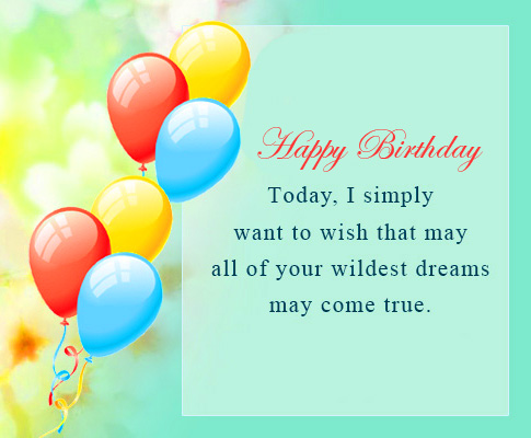 Lovely Message Happy Birthday Image