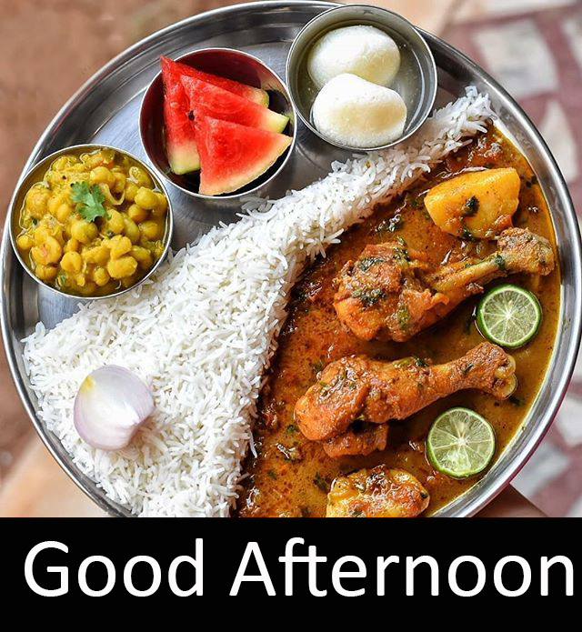 Lunch Non Veg Creative Good Afternoon Pic