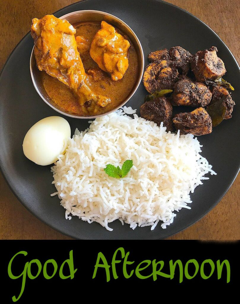 Lunch Non Veg Good Afternoon Pic