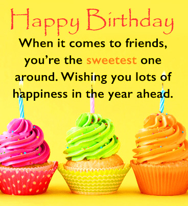 Message Happy Birthday Cute Picture