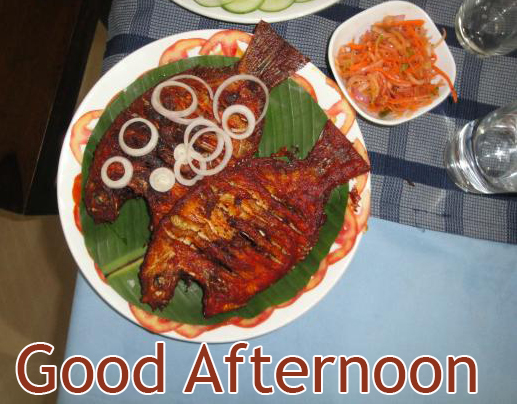 Sea Food Lunch Good Afternoon Image