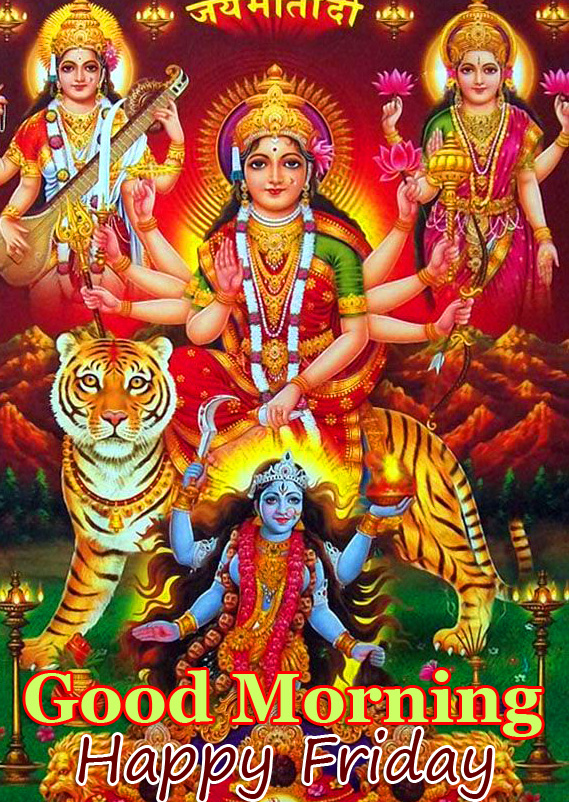 Tridevi Good Morning Happy Friday Picture