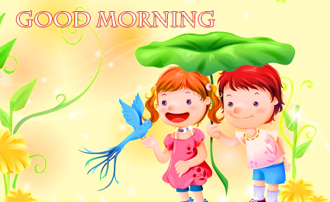 Animaed Cheerful Good Morning Picture