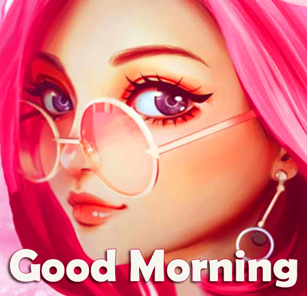 Girl Animated Good Morning Picture