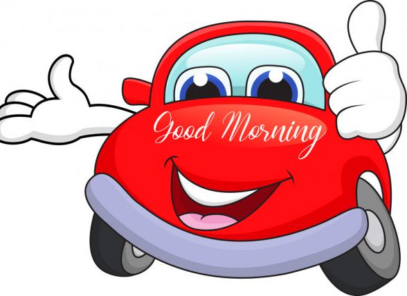Good Morning Cute Car Picture