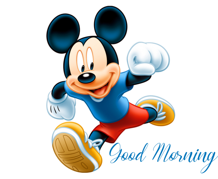 Mickey Mouse Animated Good Morning Picture